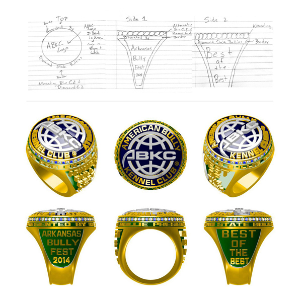 ABKC American bully kennel club corporate ring