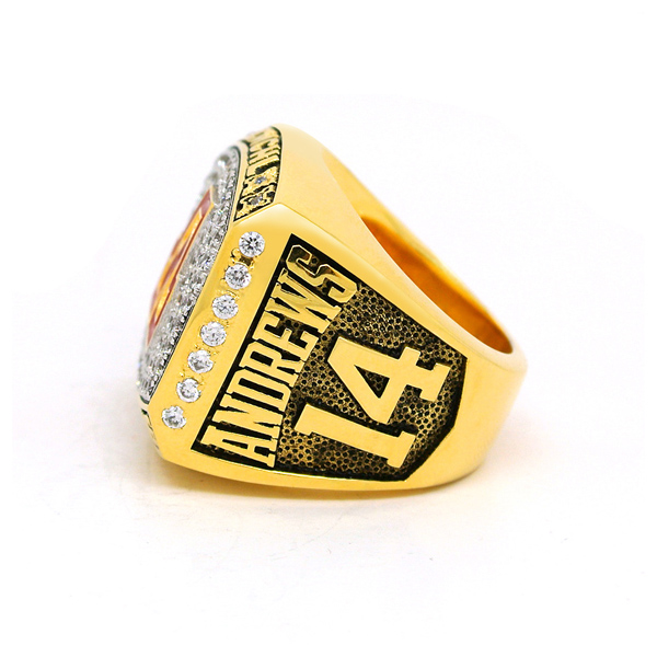 Alliance Flames Championship Ring
