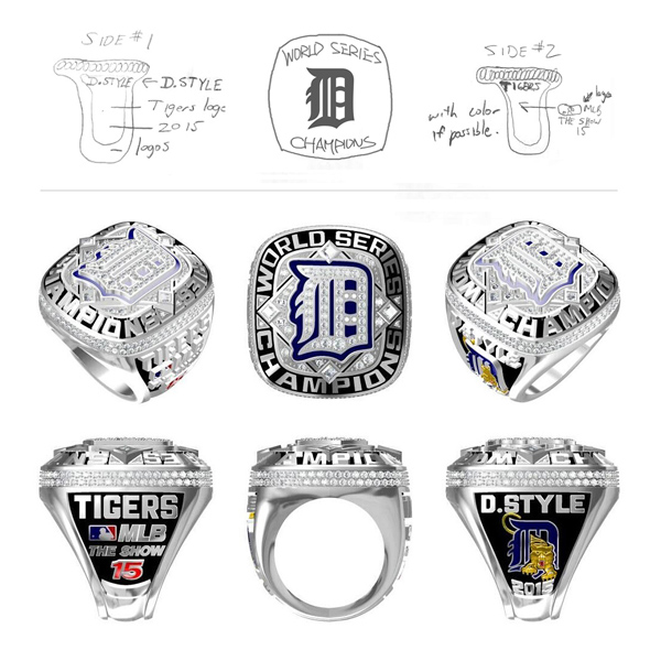 Tigers World Series Championship Ring