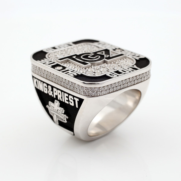 The Glory Zone Personalized ring